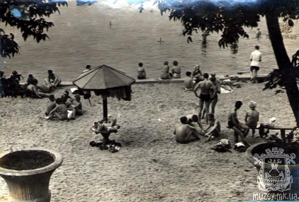 Пляж в Яхт-клубе