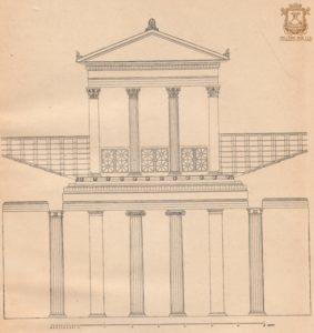 рис. 3 Фасад античного дома