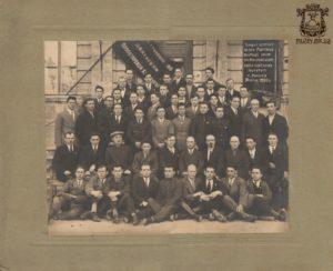 АнтонийРомановскийсреди преподавателей (1930 г.)