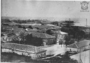Вид на завод со стороны улиц Военных
