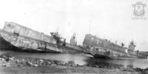 Подлодка николаевского производства на кладбище военных кораблей