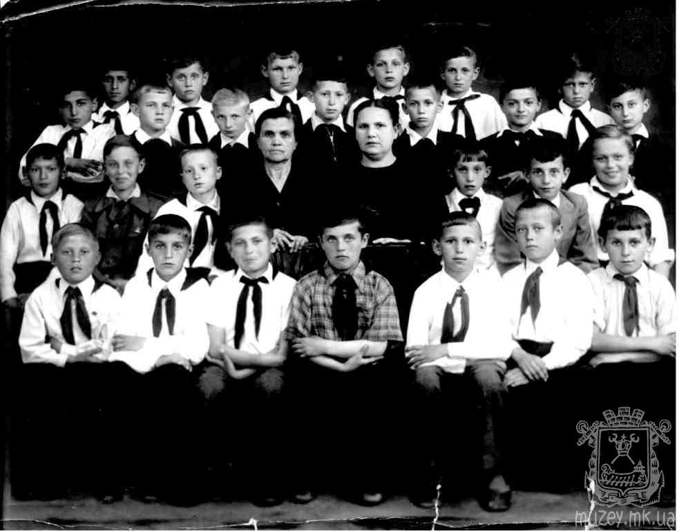 Школа 1 (мужская) 1951
